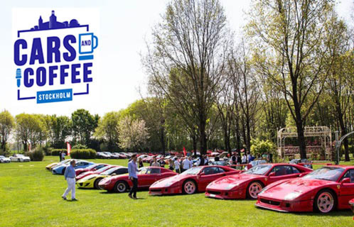 Koenigsegg till Cars and Coffee Stockholm